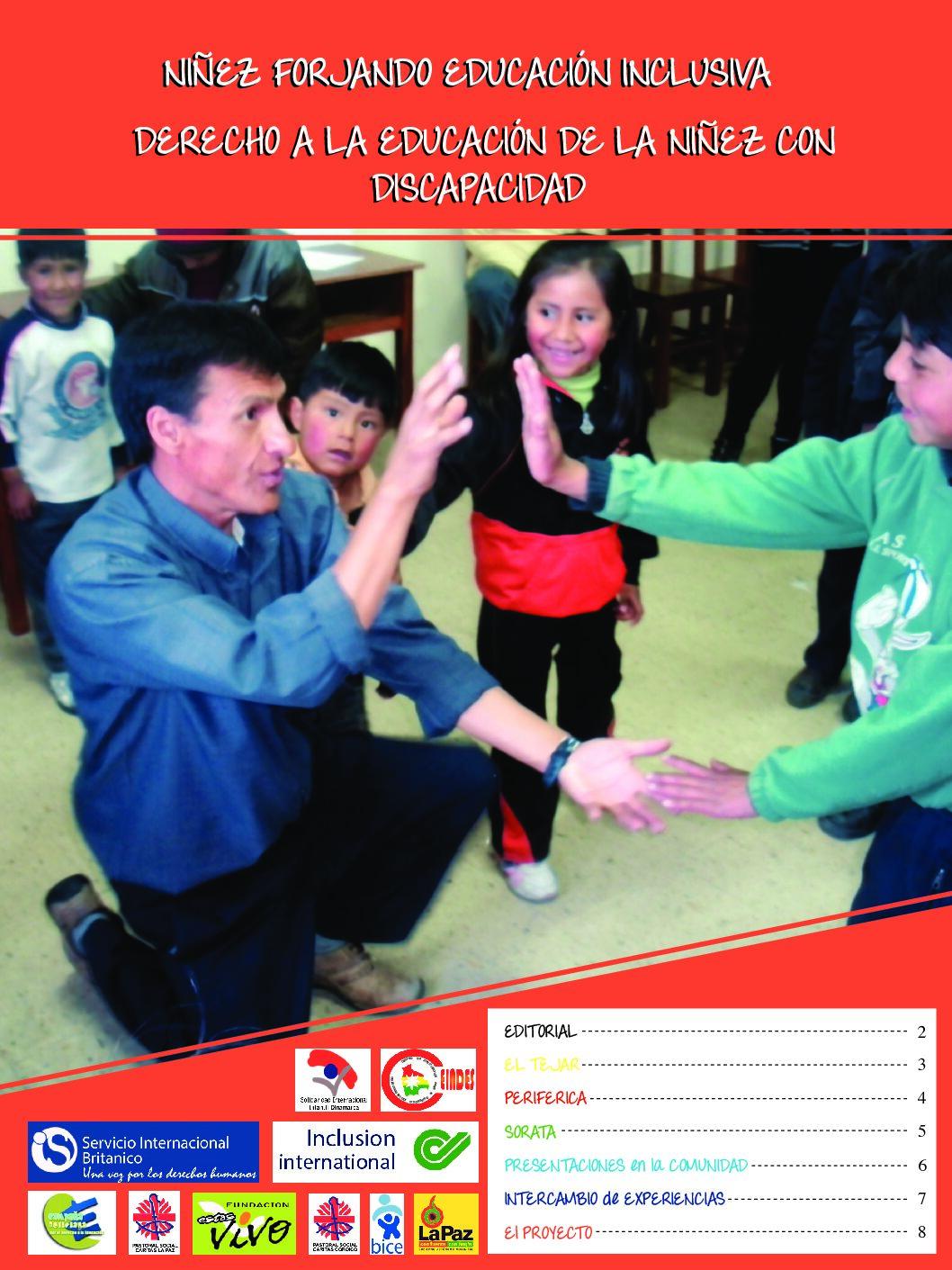 Boletín: Niñez forjando educación inclusiva